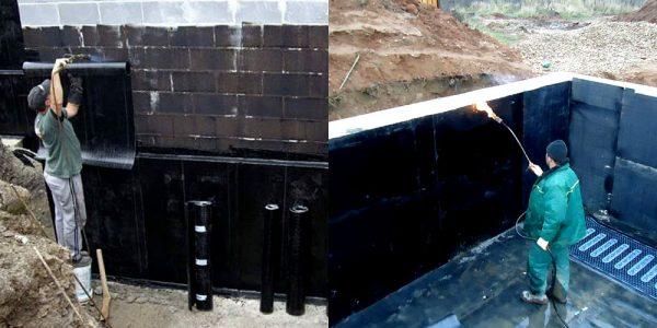 гидроизоляция частного дома
