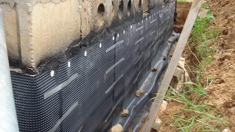 гидроизоляция панельного дома