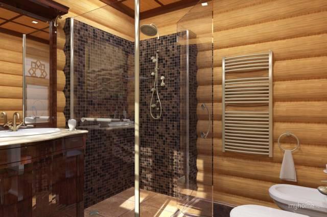 Как правильно сделать санузел в деревянном доме фото 652