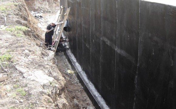 Гидроизоляция стен снаружи