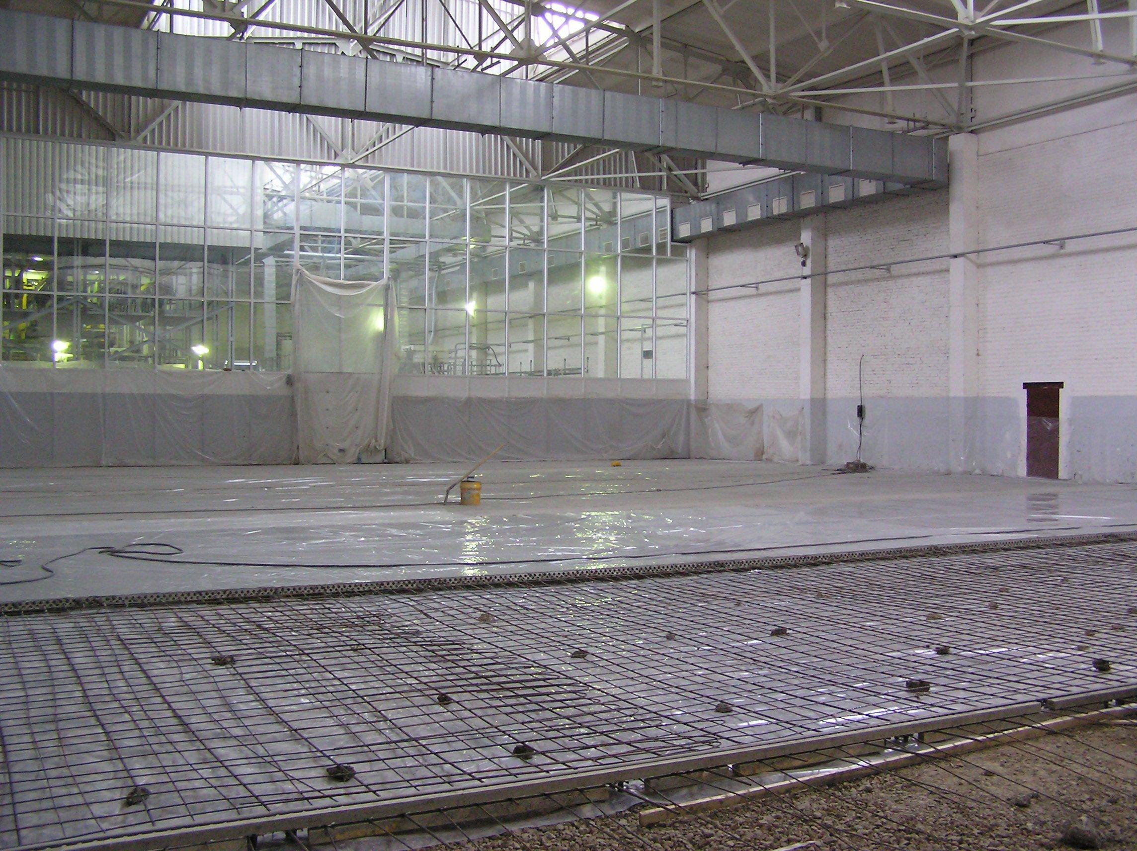 применение упрочнителя бетона