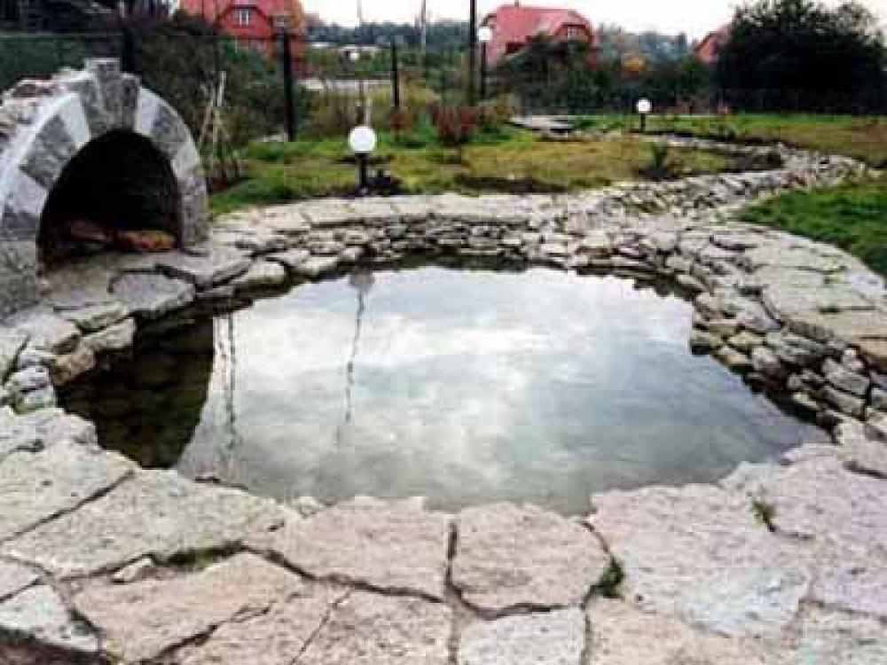 Гидроизоляция искусственного водоема